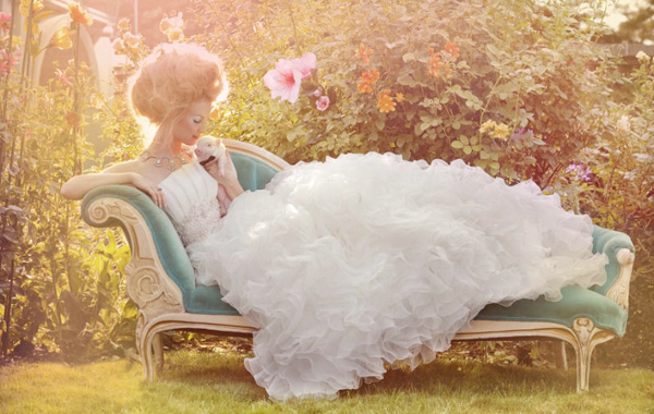 Aquamarine-chaise-dress-garden-hair-Favim.com-138624