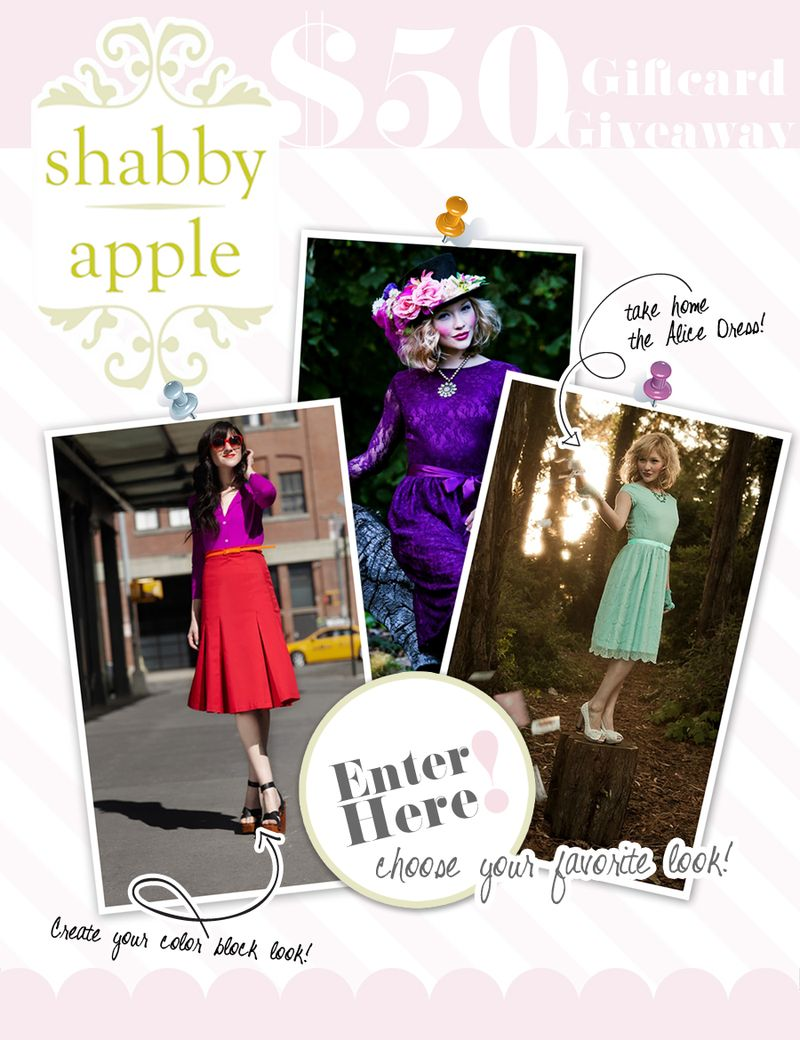 8b6bcaed4d9 ♥♥♥♥ Giveaway from Shabby Apple ♥♥♥♥ CLOSED - Blythe ...