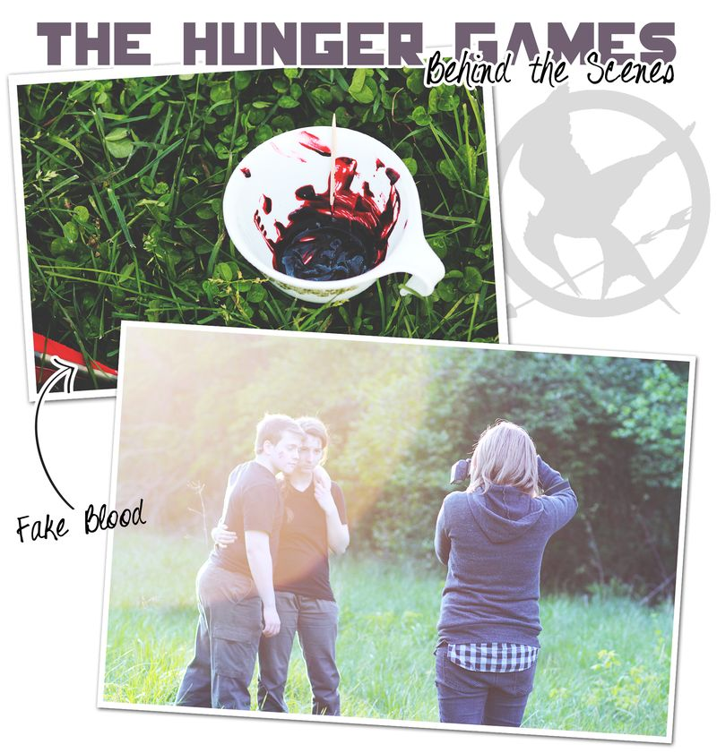 Hunger games behind the scenes