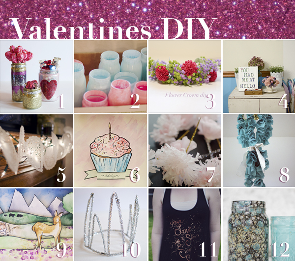 Valentine, DIY, projects
